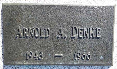 DENKE, ARNOLD - Pennington County, South Dakota | ARNOLD DENKE - South Dakota Gravestone Photos