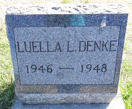 DENKE, LUELLA - Pennington County, South Dakota | LUELLA DENKE - South Dakota Gravestone Photos