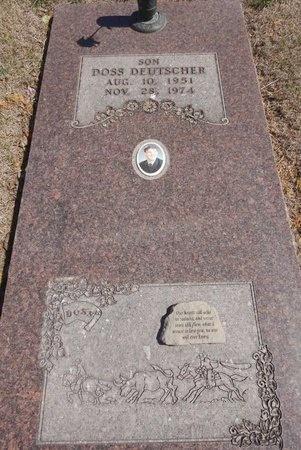 DEUTSCHER, DOSS - Pennington County, South Dakota | DOSS DEUTSCHER - South Dakota Gravestone Photos
