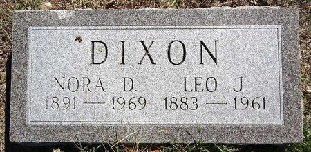 DIXON, LEO - Pennington County, South Dakota | LEO DIXON - South Dakota Gravestone Photos