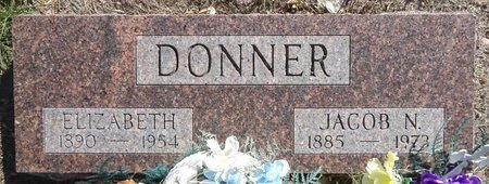 DONNER, ELIZABETH - Pennington County, South Dakota   ELIZABETH DONNER - South Dakota Gravestone Photos