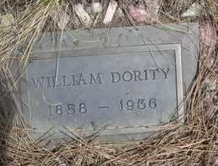 DORITY, WILLIAM - Pennington County, South Dakota   WILLIAM DORITY - South Dakota Gravestone Photos