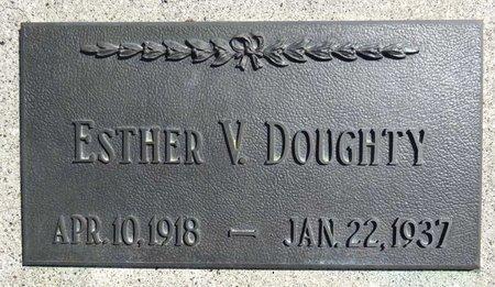 DOUGHTY, ESTHER - Pennington County, South Dakota | ESTHER DOUGHTY - South Dakota Gravestone Photos