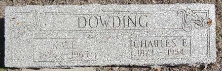 DOWDING, KATE - Pennington County, South Dakota | KATE DOWDING - South Dakota Gravestone Photos