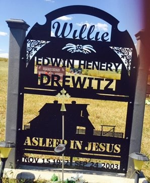 "DREWITZ, EDWIN ""WILLIE"" - Pennington County, South Dakota | EDWIN ""WILLIE"" DREWITZ - South Dakota Gravestone Photos"