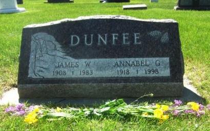 LIGGETT DUNFEE, ANNABEL GUENDOLYN - Pennington County, South Dakota | ANNABEL GUENDOLYN LIGGETT DUNFEE - South Dakota Gravestone Photos