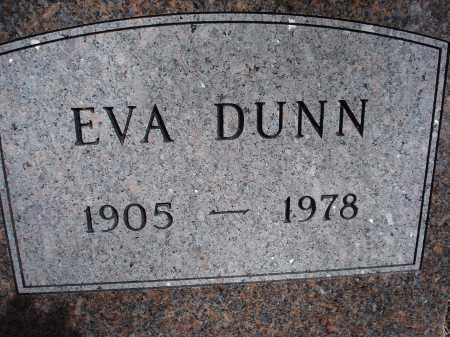DUNN, EVA - Pennington County, South Dakota   EVA DUNN - South Dakota Gravestone Photos