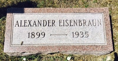 EISENBRAUN, ALEXANDER - Pennington County, South Dakota | ALEXANDER EISENBRAUN - South Dakota Gravestone Photos