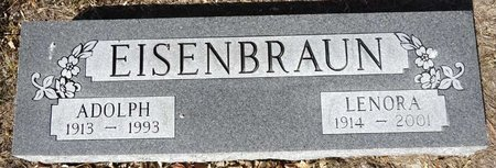SCHWEIGERT EISENBRAUN, LENORA - Pennington County, South Dakota | LENORA SCHWEIGERT EISENBRAUN - South Dakota Gravestone Photos