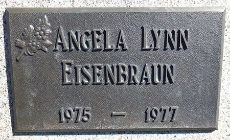 EISENBRAUN, ANGELA LYNN - Pennington County, South Dakota | ANGELA LYNN EISENBRAUN - South Dakota Gravestone Photos