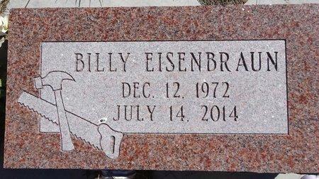 EISENBRAUN, BILLY - Pennington County, South Dakota   BILLY EISENBRAUN - South Dakota Gravestone Photos