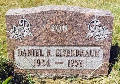 EISENBRAUN, DANIEL - Pennington County, South Dakota | DANIEL EISENBRAUN - South Dakota Gravestone Photos