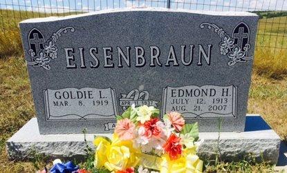 EISENBRAUN, GOLDIE - Pennington County, South Dakota   GOLDIE EISENBRAUN - South Dakota Gravestone Photos