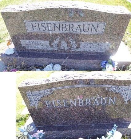 SCHULER EISENBRAUN, EMMA - Pennington County, South Dakota | EMMA SCHULER EISENBRAUN - South Dakota Gravestone Photos