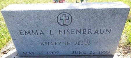 EISENBRAUN, EMMA L. - Pennington County, South Dakota | EMMA L. EISENBRAUN - South Dakota Gravestone Photos