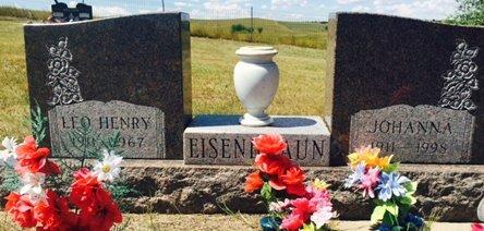 EISENBRAUN, JOHANNA - Pennington County, South Dakota | JOHANNA EISENBRAUN - South Dakota Gravestone Photos