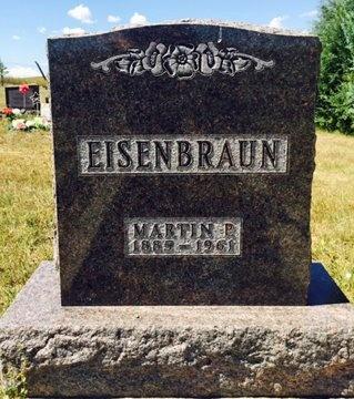 EISENBRAUN, MARTIN - Pennington County, South Dakota | MARTIN EISENBRAUN - South Dakota Gravestone Photos