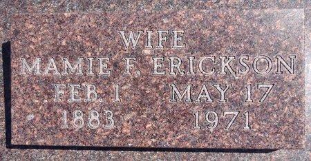 ERICKSON, MAMIE - Pennington County, South Dakota | MAMIE ERICKSON - South Dakota Gravestone Photos