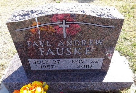 FAUSKE, PAUL ANDREW - Pennington County, South Dakota | PAUL ANDREW FAUSKE - South Dakota Gravestone Photos