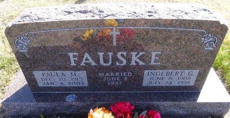 FAUSKE, INGEBERT - Pennington County, South Dakota | INGEBERT FAUSKE - South Dakota Gravestone Photos