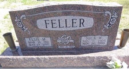 FELLER, NICK - Pennington County, South Dakota | NICK FELLER - South Dakota Gravestone Photos