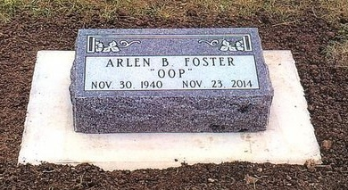 FOSTER, ARLEN - Pennington County, South Dakota | ARLEN FOSTER - South Dakota Gravestone Photos