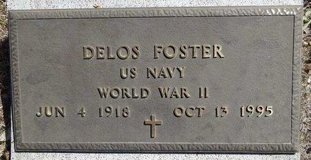 FOSTER, DELOS - Pennington County, South Dakota   DELOS FOSTER - South Dakota Gravestone Photos