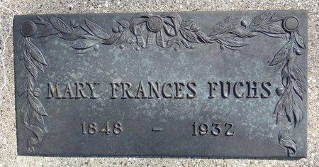 FUCHS, MARY FRANCES - Pennington County, South Dakota | MARY FRANCES FUCHS - South Dakota Gravestone Photos