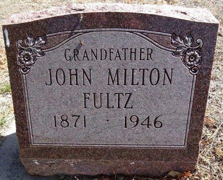 FULTZ, JOHN MILTON - Pennington County, South Dakota | JOHN MILTON FULTZ - South Dakota Gravestone Photos