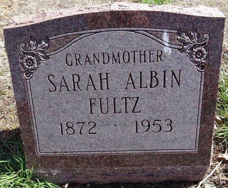 FULTZ, SARAH - Pennington County, South Dakota | SARAH FULTZ - South Dakota Gravestone Photos