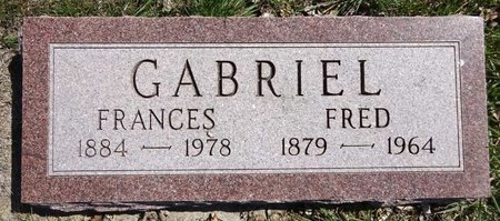 GABRIEL, FRANCES - Pennington County, South Dakota | FRANCES GABRIEL - South Dakota Gravestone Photos