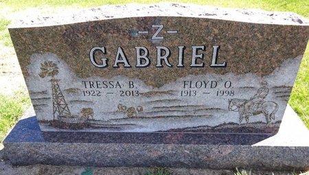 GABRIEL, FLOYD - Pennington County, South Dakota | FLOYD GABRIEL - South Dakota Gravestone Photos