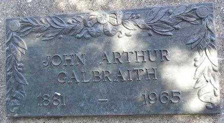 GALBRAITH, JOHN ARTHUR - Pennington County, South Dakota | JOHN ARTHUR GALBRAITH - South Dakota Gravestone Photos