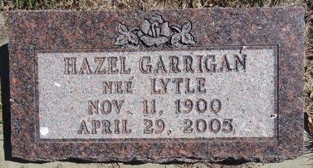 LYTLE GARRIGAN, HAZEL - Pennington County, South Dakota | HAZEL LYTLE GARRIGAN - South Dakota Gravestone Photos