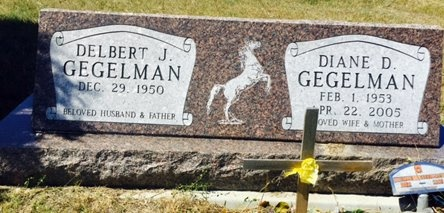 GEGELMAN, DELBERT - Pennington County, South Dakota | DELBERT GEGELMAN - South Dakota Gravestone Photos