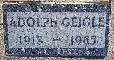 GEIGLE, ADOLPH - Pennington County, South Dakota | ADOLPH GEIGLE - South Dakota Gravestone Photos