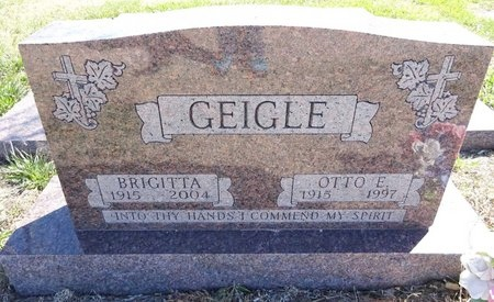 GEIGLE, OTTO - Pennington County, South Dakota | OTTO GEIGLE - South Dakota Gravestone Photos