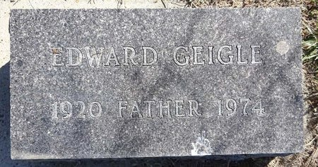GEIGLE, EDWARD - Pennington County, South Dakota | EDWARD GEIGLE - South Dakota Gravestone Photos