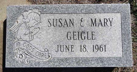 GEIGLE, SUSAN - Pennington County, South Dakota   SUSAN GEIGLE - South Dakota Gravestone Photos