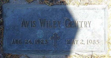 GENTRY, AVIS WILEY - Pennington County, South Dakota   AVIS WILEY GENTRY - South Dakota Gravestone Photos
