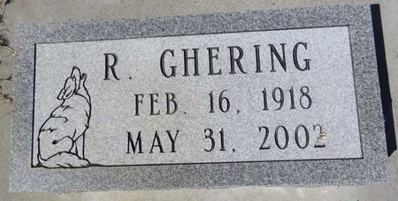 "GHERING, SR., RAYMOND ""RAY - Pennington County, South Dakota 