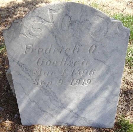 GOETTSCH, FREDRICK - Pennington County, South Dakota   FREDRICK GOETTSCH - South Dakota Gravestone Photos