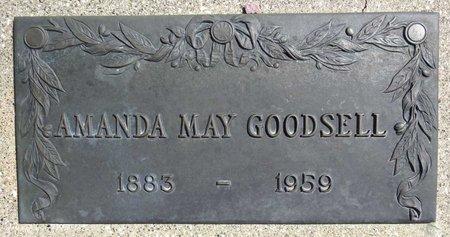 GOODSELL, AMANDA MAY - Pennington County, South Dakota | AMANDA MAY GOODSELL - South Dakota Gravestone Photos