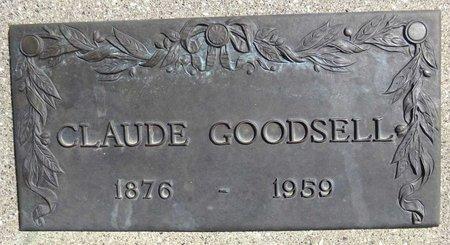 GOODSELL, CLAUDE - Pennington County, South Dakota   CLAUDE GOODSELL - South Dakota Gravestone Photos