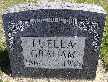 GRAHAM, LUELLA - Pennington County, South Dakota | LUELLA GRAHAM - South Dakota Gravestone Photos