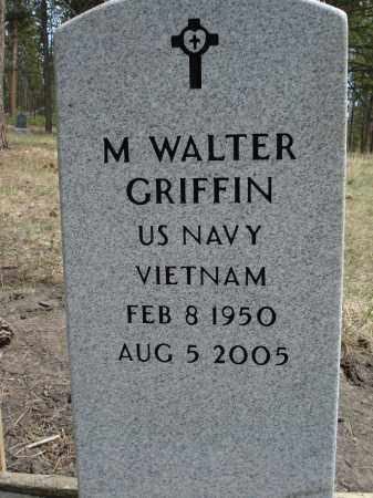 GRIFFIN, M. WALTER - Pennington County, South Dakota   M. WALTER GRIFFIN - South Dakota Gravestone Photos