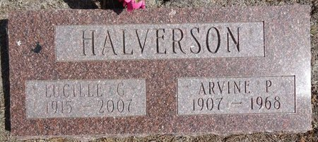 HALVERSON, LUCILLE - Pennington County, South Dakota | LUCILLE HALVERSON - South Dakota Gravestone Photos