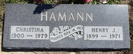 HAMANN, HENRY - Pennington County, South Dakota | HENRY HAMANN - South Dakota Gravestone Photos