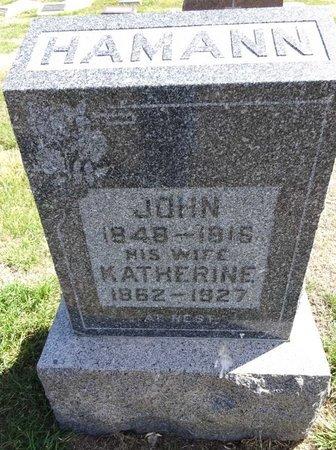 HAMANN, KATHERINE - Pennington County, South Dakota | KATHERINE HAMANN - South Dakota Gravestone Photos