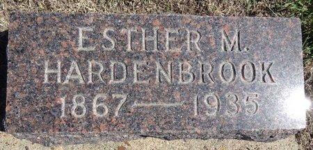 HARDENBROOK, ESTHER - Pennington County, South Dakota | ESTHER HARDENBROOK - South Dakota Gravestone Photos